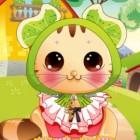 Играть Одень котенка онлайн