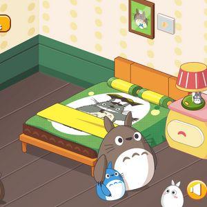 Играть Переделка комнаты Тоторо онлайн