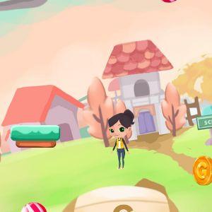 Играть Прыгающая Школьница онлайн