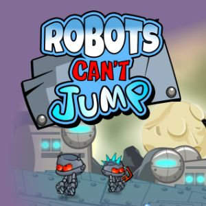 Играть Роботы не умеют прыгать онлайн