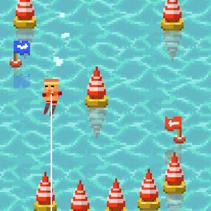 Играть Водные лыжи онлайн
