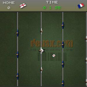 Играть Настольный футбол онлайн