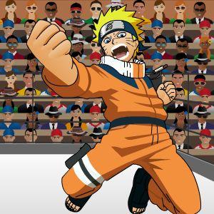 Играть Бокс с Наруто онлайн