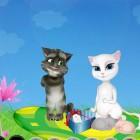 Играть Говорящие Том и Анжела онлайн