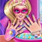 Играть Маникюр Барби онлайн