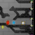 Играть Огонь и вода в хрустальном храме онлайн