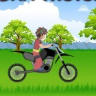 Играть Бакуган на мотоцикле онлайн