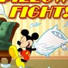 Играть Микки Мауса Бой подушками онлайн