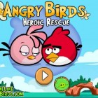 Играть Angry Birds Hero Rescue онлайн