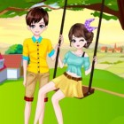 Играть Одевалка пары онлайн