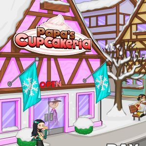 Играть Папа Луи: кексы онлайн